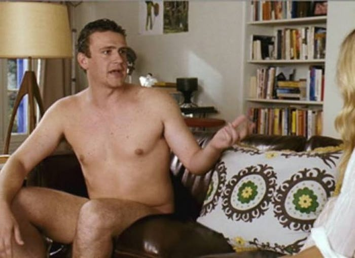 Jason Segel in 'Forgetting Sarah Marshall': Sexy.