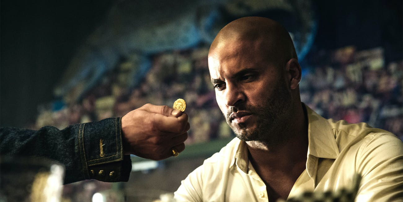 Ricky Whittle As Shadow in Bryan Fuller's adaptation of Neil Gaiman's 'American Gods'