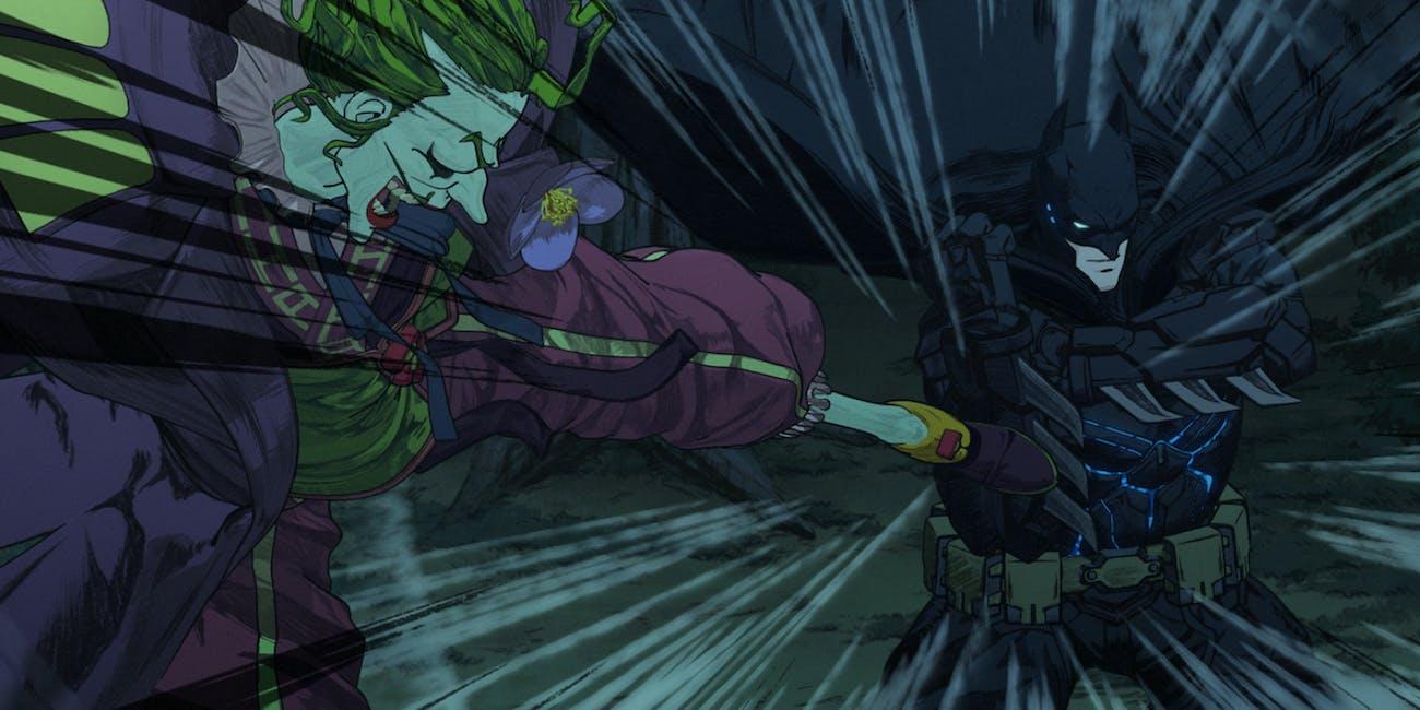 Batman Ninja Joker