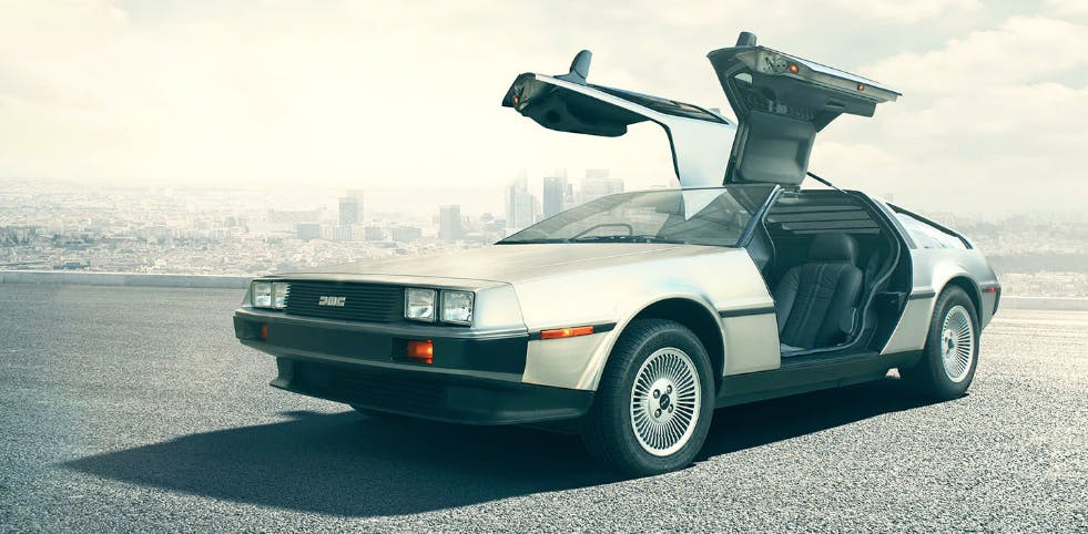 The 2017 Delorean Dmc 12 Is Perfect Because Back To The Future Fans Made It Inverse