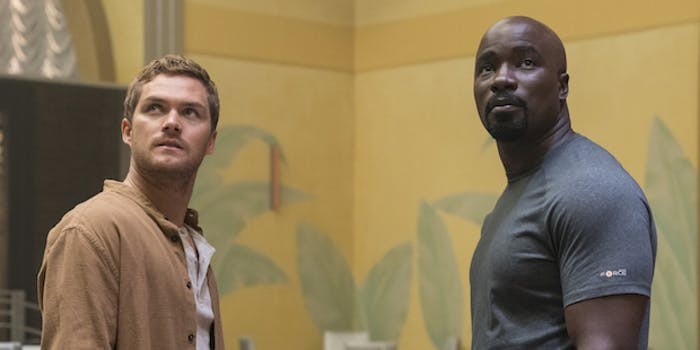 iron fist luke cage