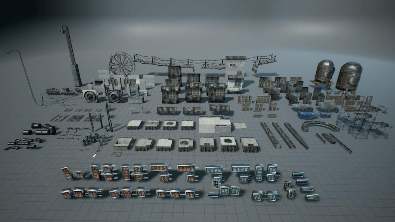 Unreal Engine 4 Soul: City