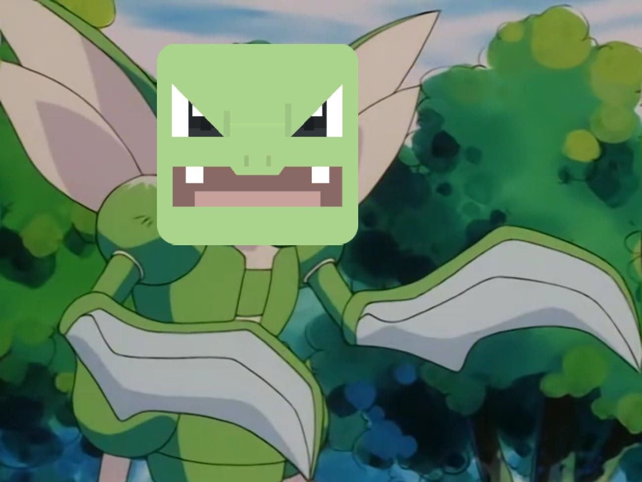 Scyther is an offensive powerhouse in 'Pokémon Quest'.