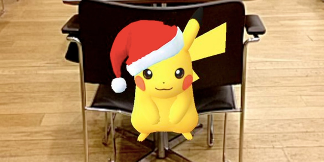 The Best Holiday Pikachu Catches in the Pokemon Go Update