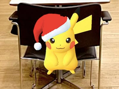 The Best #HolidayPikachu Catches on the 'Pokemon GO' Update