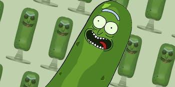 Pickle Rick Funko