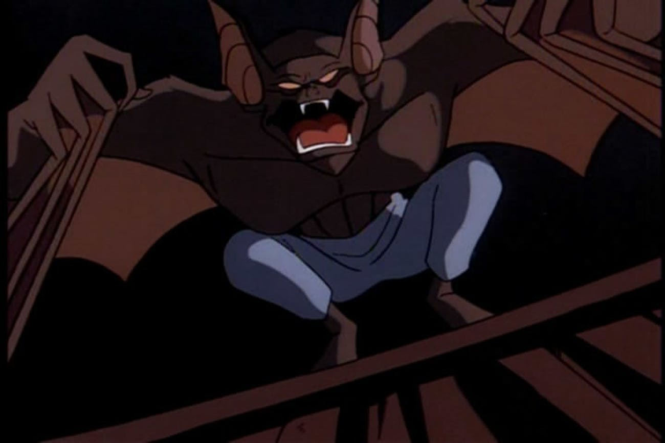 When Batman fights a Man-Bat, he's also fighting his own sense of humanity.