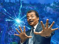 neil degrasse tyson on fortnite physics