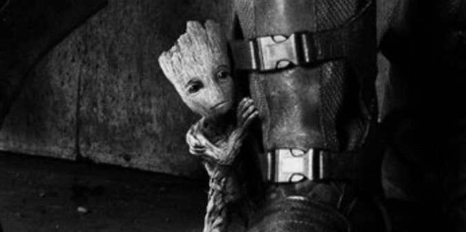 Baby Groot in Marvel's Guardians of the Galaxy Vol. 2