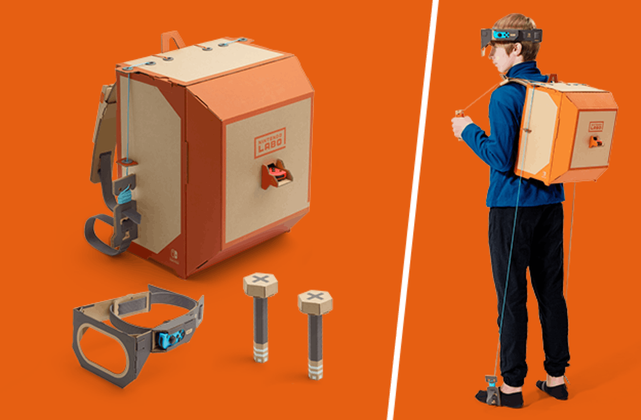Nintendo Labo Robot Kit.