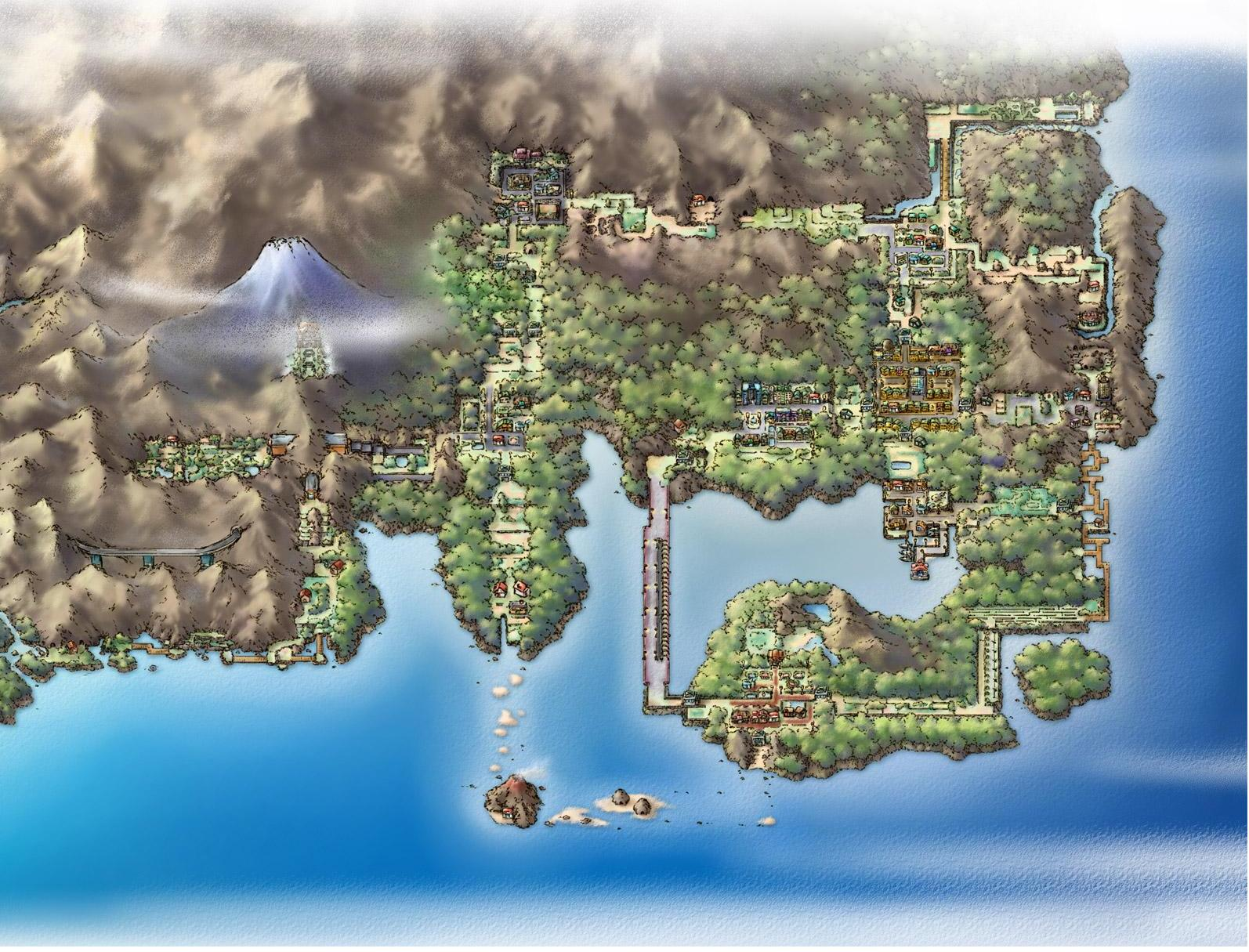 Pokemon's Kanto Region