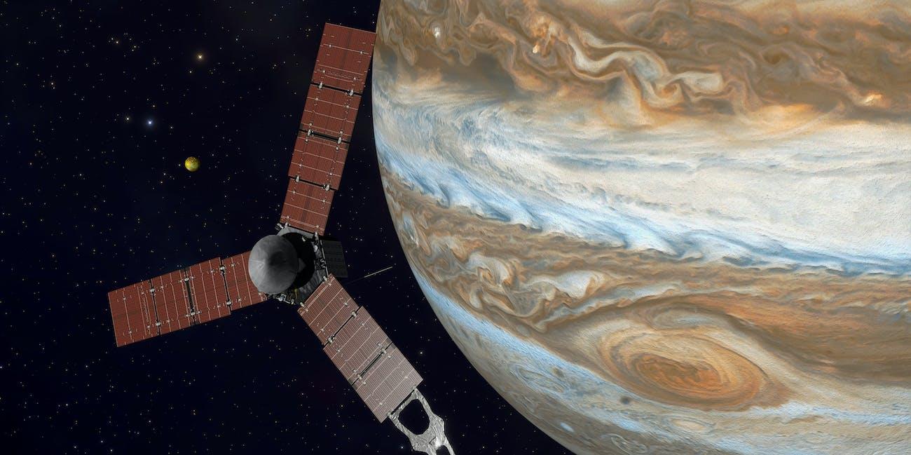 Juno over Jupiter