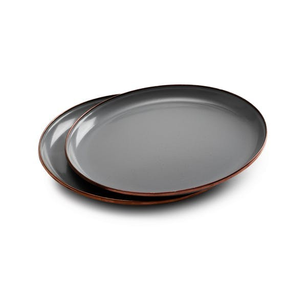 Enamel Deep Plate Set