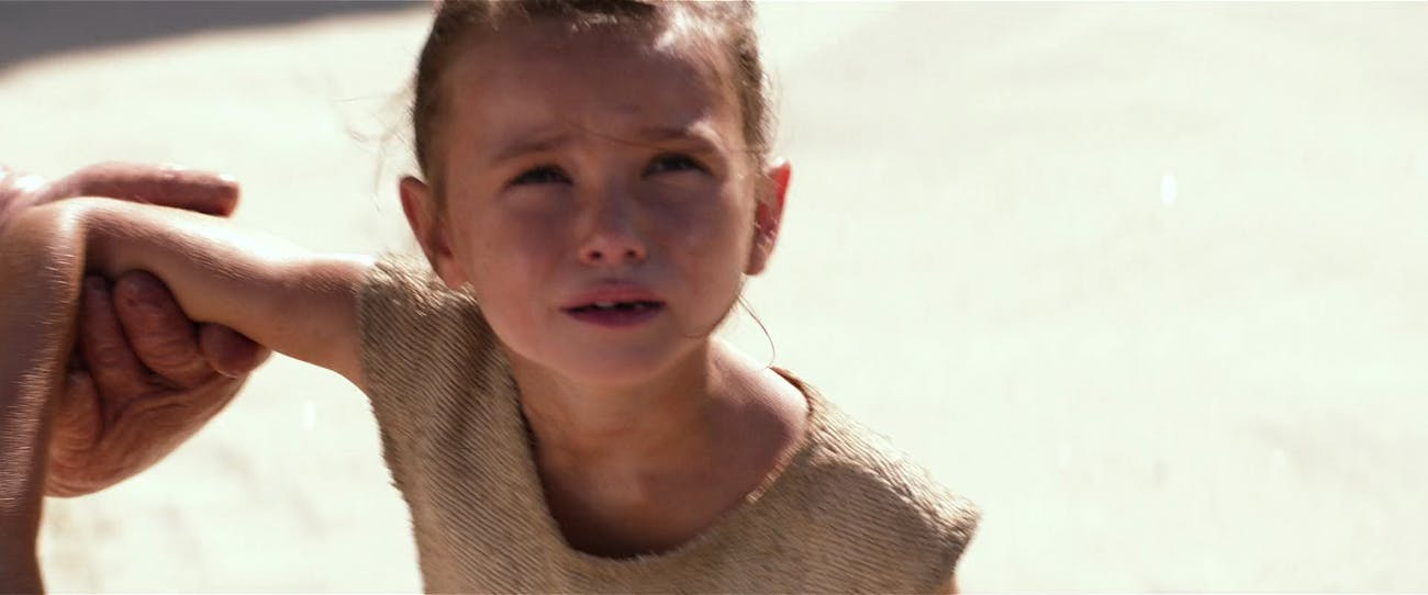 star wars young rey