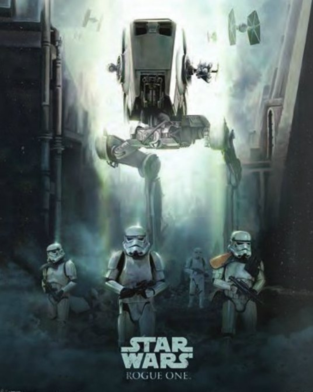 The new art in featuring the AT-ST