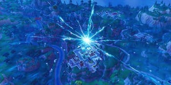 That huge 'Fortnite' crack is already making radical changes to the map.