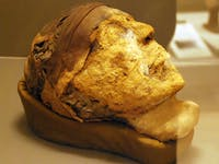 Djehutynakht, Egyptian mummy head