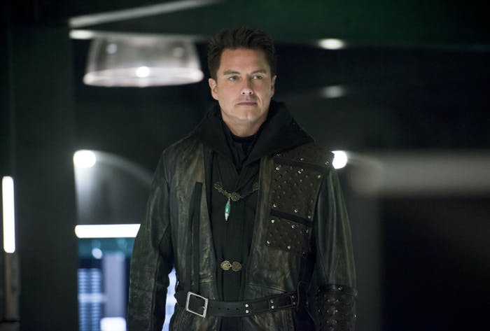 Malcolm Merlyn Time Travel