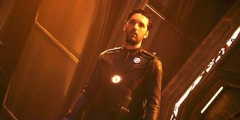 "Shazad Latif as Lt. Tyler on ""Star Trek: Discovery'"