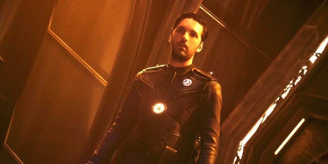 "Shazad Latif as Lt. Tyler on ""Star Trek: Discovery'"