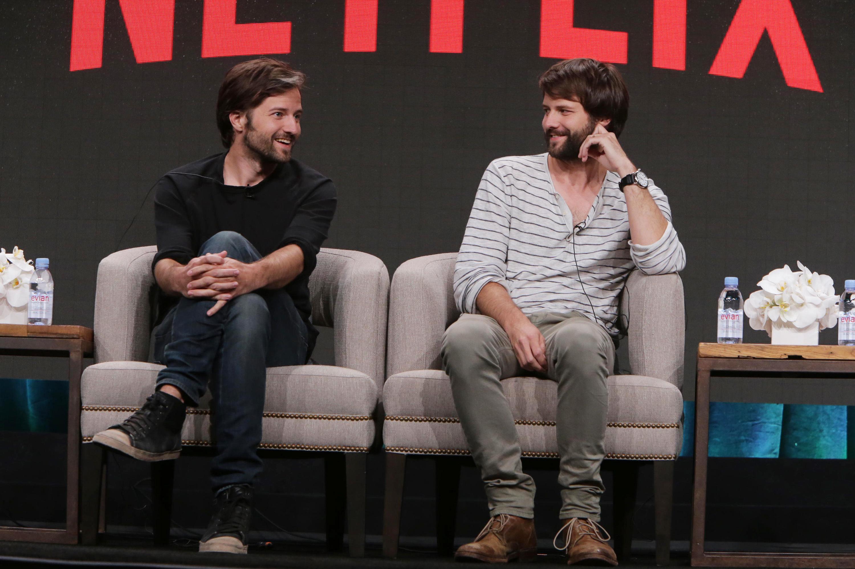 Series creators Matt and Ross Duffer.