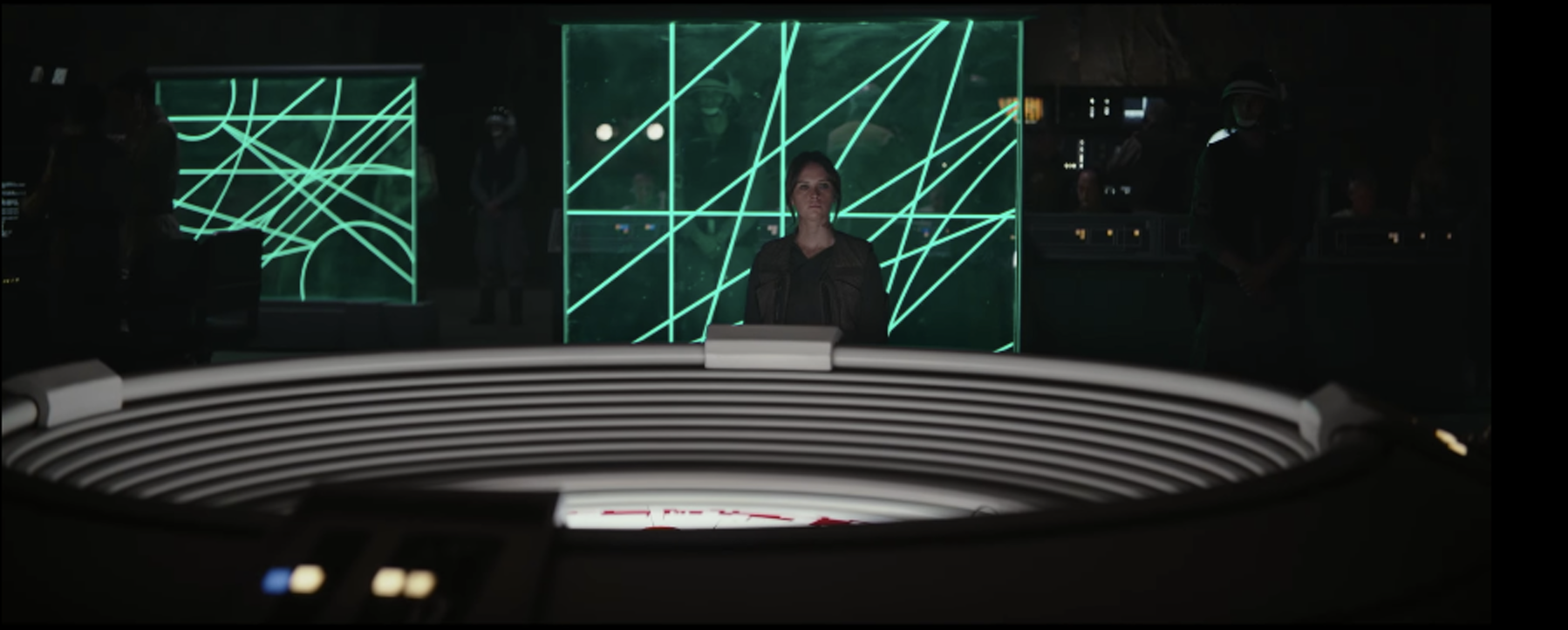Briefing room in 'Rogue One'