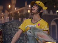 "At some point, somebody thought, ""Hey, let's put Noctis in this ridiculous chocobo outfit."""