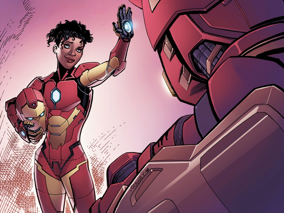 Marvel's Ironheart Grew Up From a Kid Genius to a Rock Star