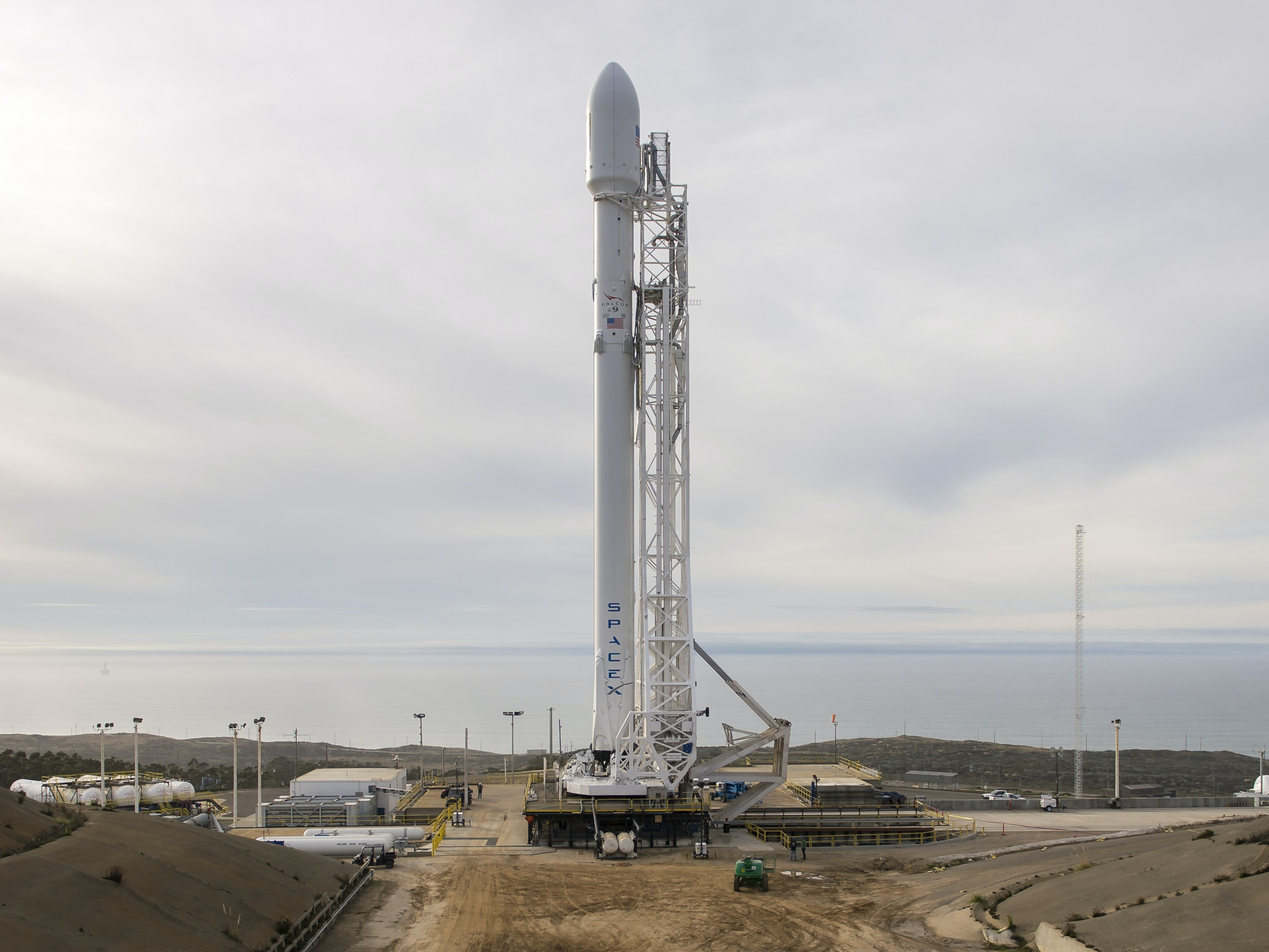 Department of Defense Awards Elon Musk's SpaceX a Military Satellite Contract