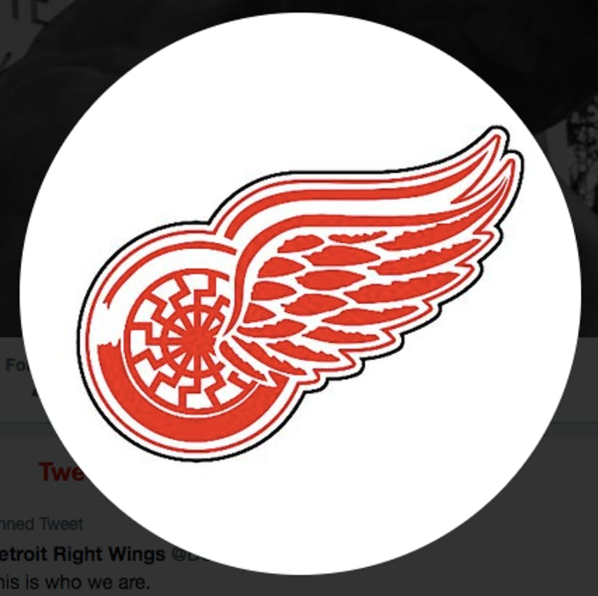 Why Neo-Nazis are Using the Detroit Red Wings Logo