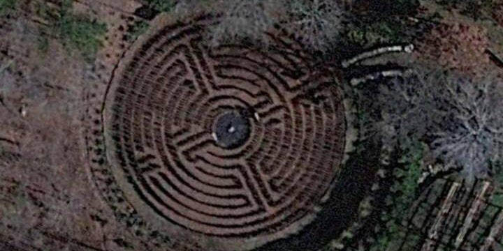 The internet has pieced together the coordinates of John's hedge maze from the S-Town podcast