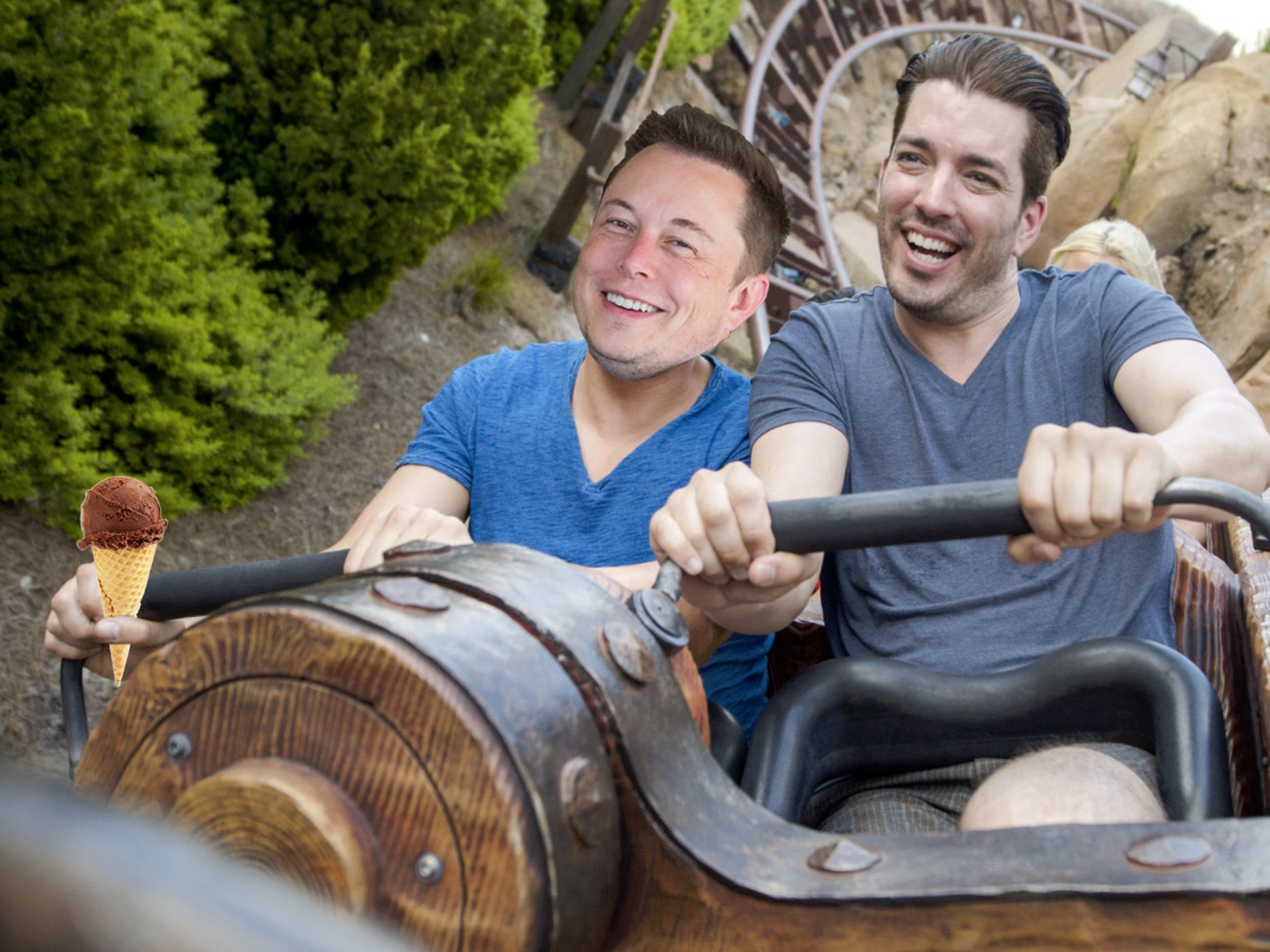 Elon Musk Hates Unions, Loves Frozen Yogurt and Roller Coasters