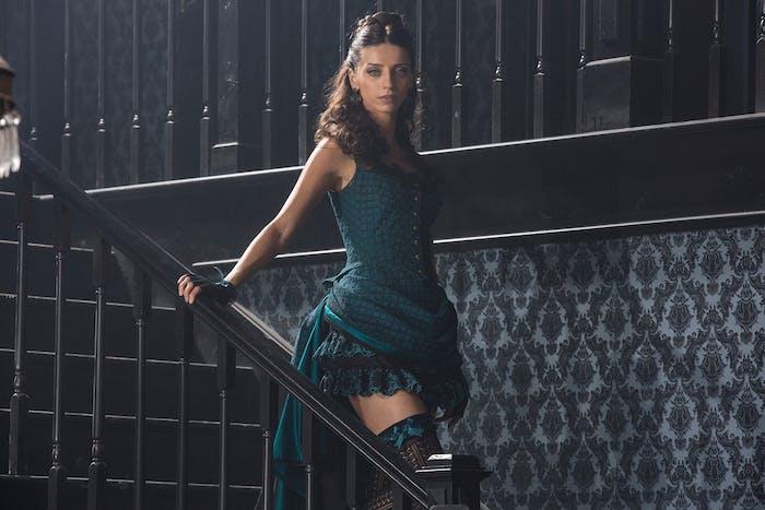 Angela Sarafyan as Clementine in Westworld