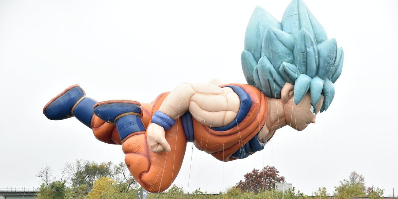 Macy's Thanksgiving Parade Goku