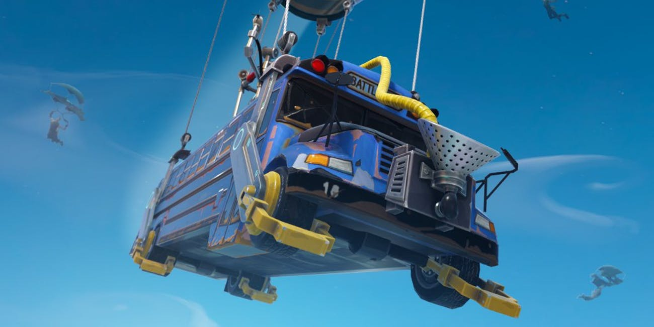 How is the Battle Bus even possible in 'Fortnite: Battle Royale'?