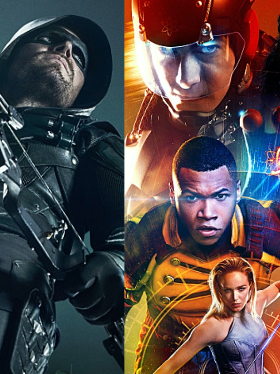 Arrow The Flash Supergirl Legends of Tomorrow DC