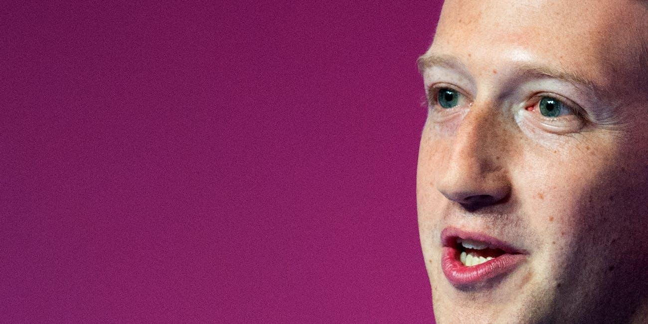 Mark Zuckerberg spoke at Mobile World Congress on Monday.