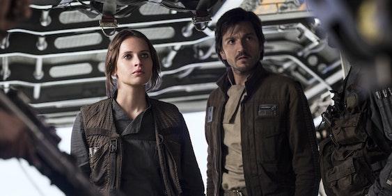 Rogue One Jyn and Cassian TV spot.