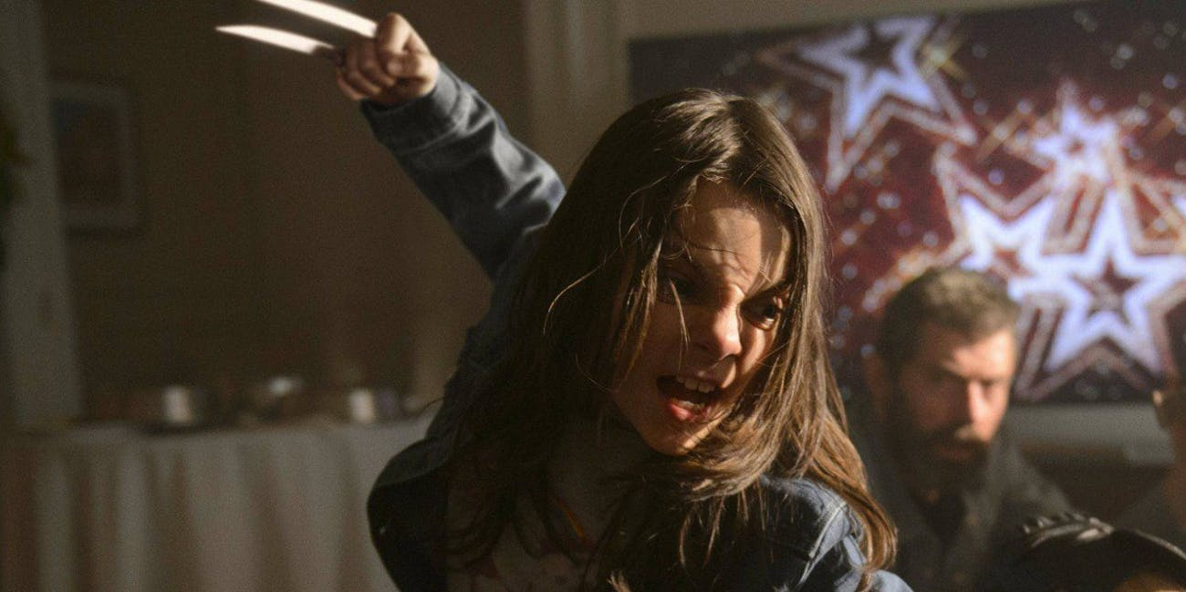 Dafne Keen beat up Hugh Jackman for her 'Logan' audition.