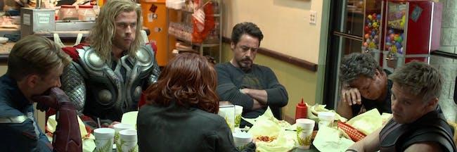 Marvel Avengers Food