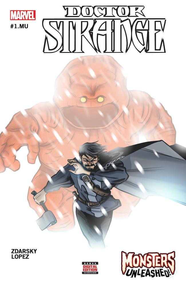 Cover for Doctor Strange Monsters Unleashed One-Shot for Marvel Comics