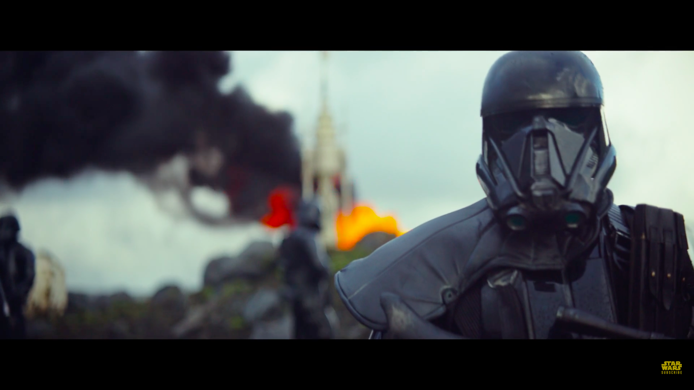 The First Star Wars Rogue One Teaser Shows Menacing All Black