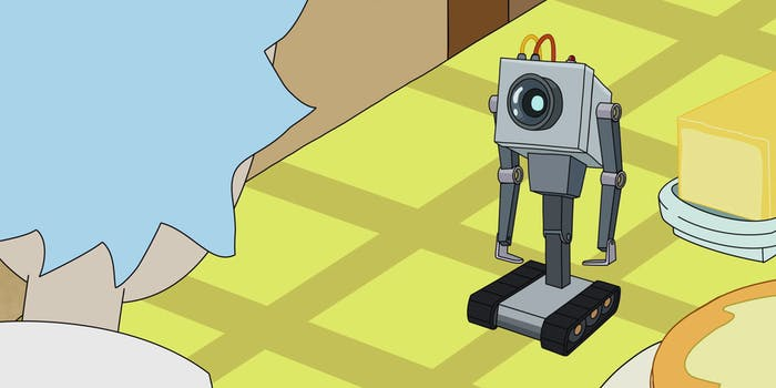 Butter Robots are prone to existential meltdowns.