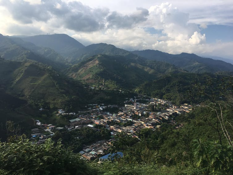 Risaralda has a unique geography that is perfect for coffee production but vulnerable to climate change.