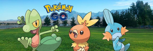 Finally, the Generation 3 starters might come to 'Pokémon GO' as soon as this December.