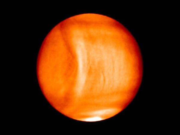Check Out Our Solar System's Largest-Ever Gravity Wave on Venus