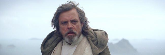 Luke Skywalker in 'The Force Awakens'