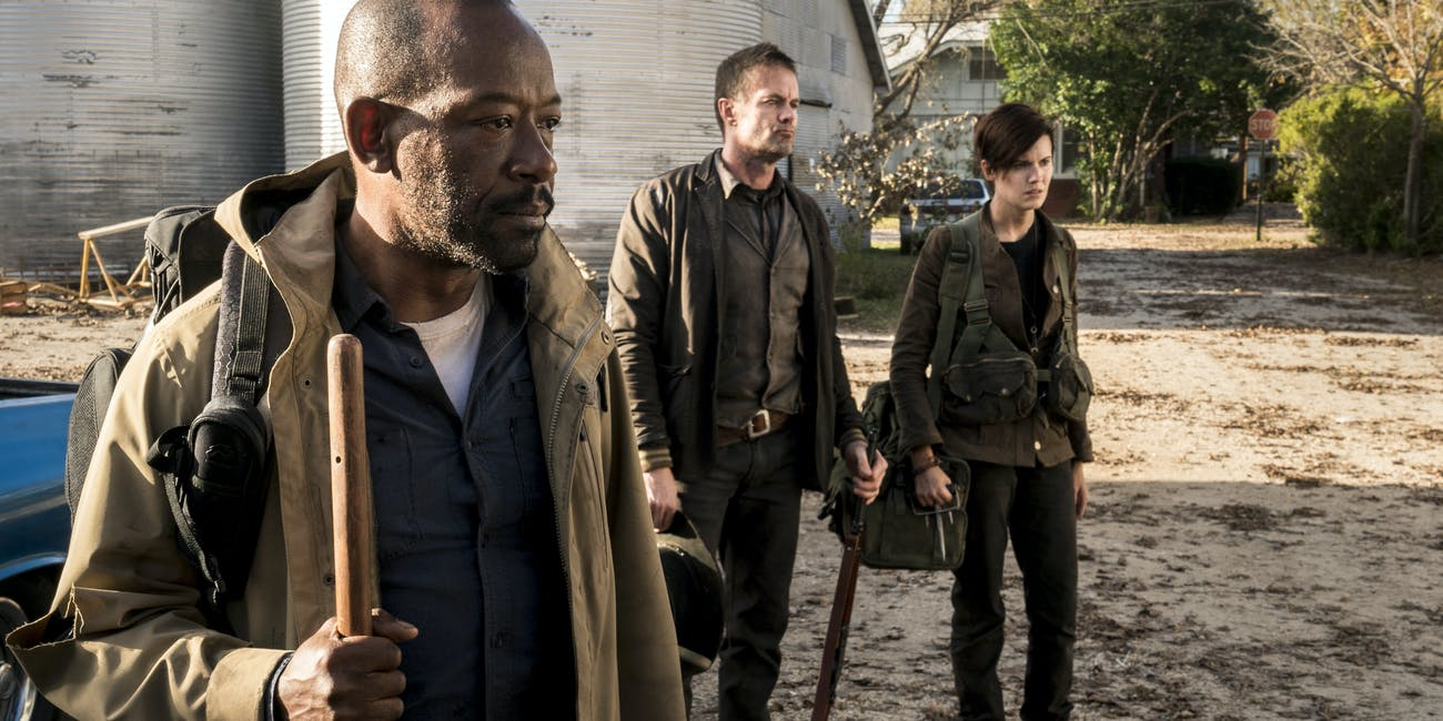 The Walking Dead Season 4 Morgan