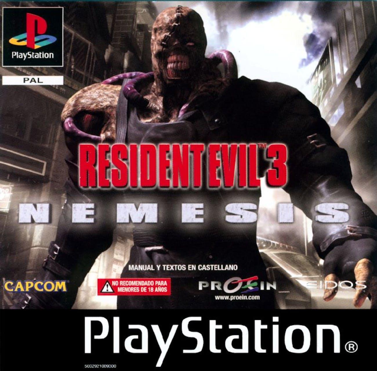 resident evil 3 nemesis capcom