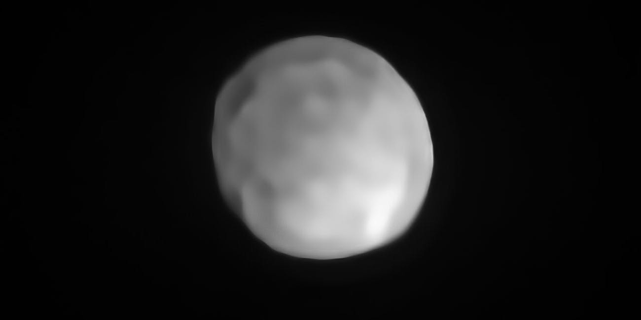 Hygiea, the fourth largest asteroid in the solar system, may be classified as a dwarf planet.